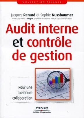 J.Renard, S.Nussbaumer- Audit interne et controle de gestion. pour une meilleure collaboration