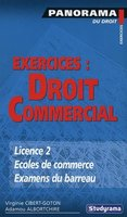 Exercices : droit commercial