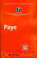 Dictionnaire paye - 2010