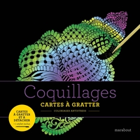 Cartes à gratter - coquillages