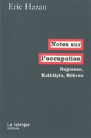 Notes sur l'occupation