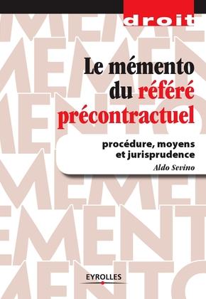 Aldo Sevino- Le mémento du référé précontractuel