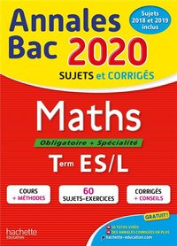 Annales bac 2020 - Maths