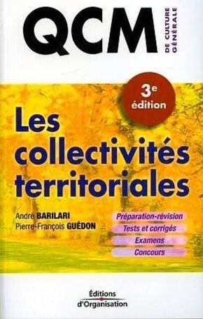 André Barilari, Pierre-Francois Guédon- Qcm - les collectivités territoriales