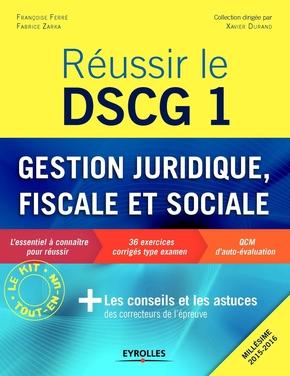 F.Ferré, F.Zarka- Réussir le DSCG 1 - Gestion juridique, fiscale et sociale