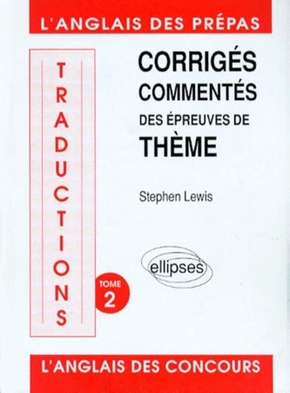 Traductions (thème) 88/92 Tome 2