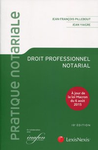 Droit professionnel notarial