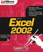 Excel 2002 Cookbook