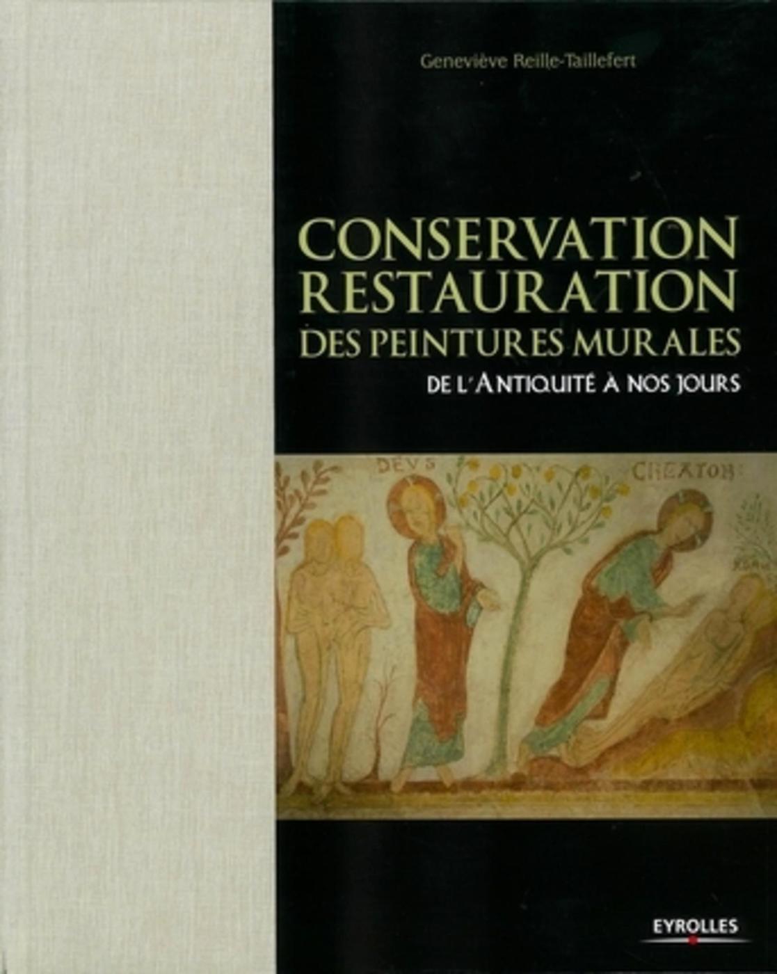 Conservation Restauration Des Peintures Murales Geneviève Librairie Eyrolles
