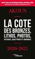 J.-A.Akoun, J.Akoun - La cote des bronzes, lithos, photos, affiches, sculptures et gravures - 2020-2021