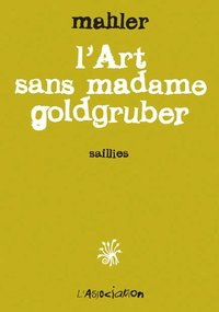 L' art sans madame goldgruber