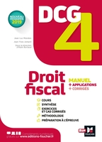 Dcg 4 ; droit fiscal ; manuel et applications