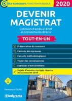 Devenir magistrat