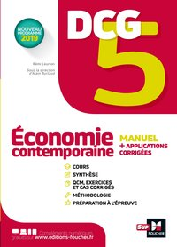 Dcg 5 - economie contemporaine - manuel et applications