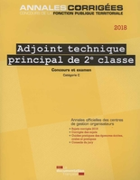 Adjoint technique principal 2e classe - 2018