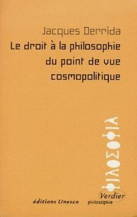 Le droit à la philosophie du point de vue cosmopolitique