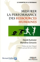 D.Autissier, B.Simonin - Mesurer la performance des ressources humaines
