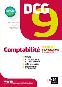 Dcg 9 ; comptabilité ; manuel et applications
