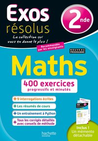 Exos résolus ; maths ; 2nde