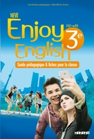 New enjoy english 3e  - guide pédagogique - version papier