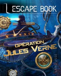 Escape book  jules vernes