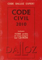 Code civil 2010 - Avec CD-Rom