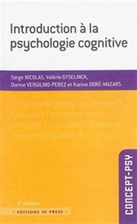 Introduction à la psychologie cognitive