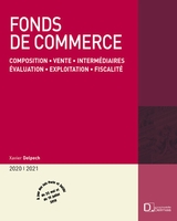 Fonds de commerce - 2020/2021