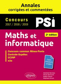 Maths et informatique, PSI