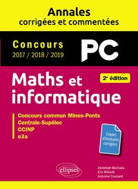 Maths et informatique, PC