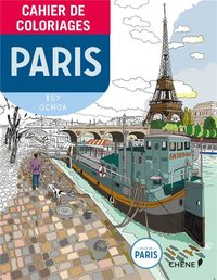 Cahier de coloriages - Paris