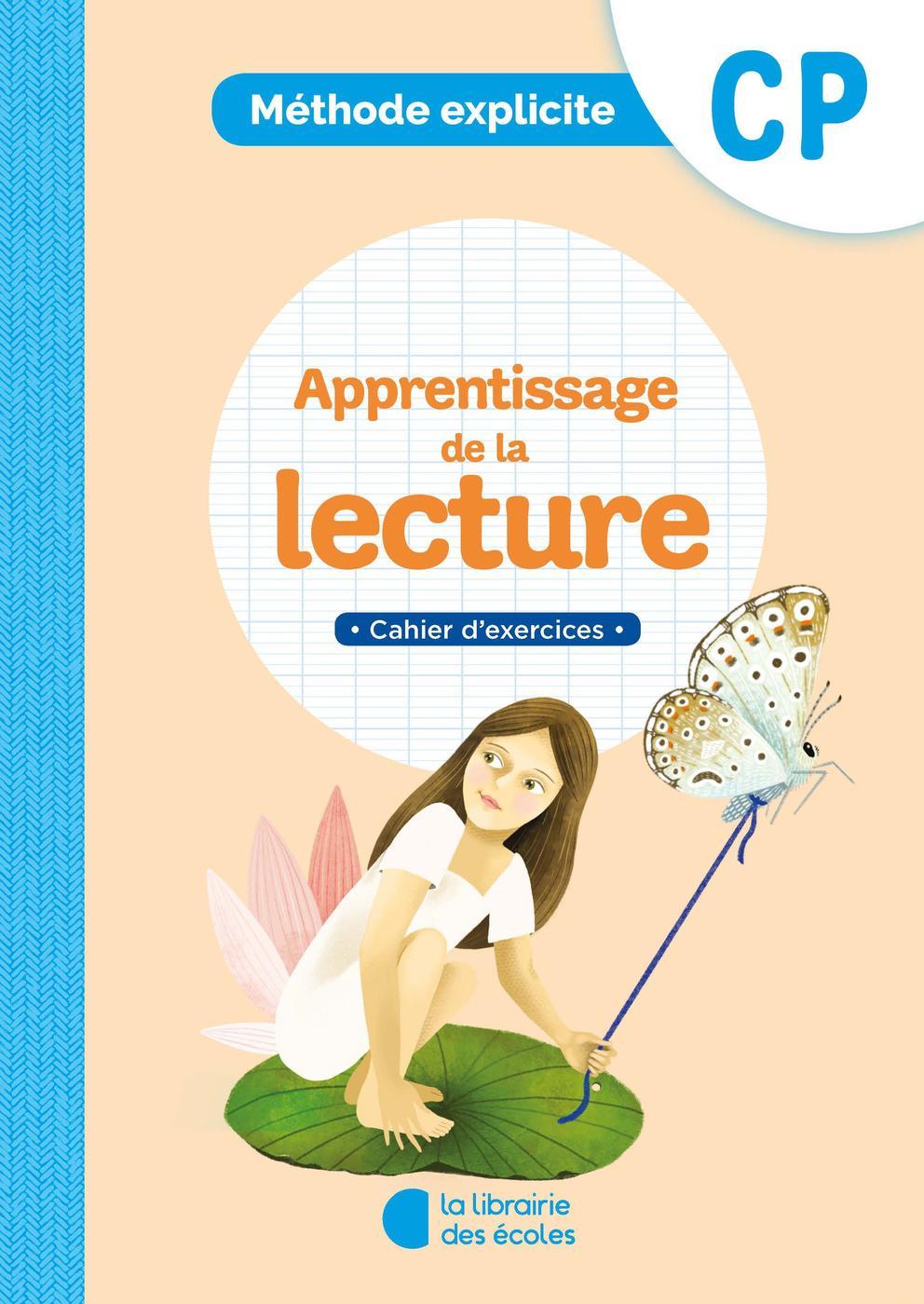 Méthode explicite lecture cp   cahier d'exercices   Librairie Eyrolles