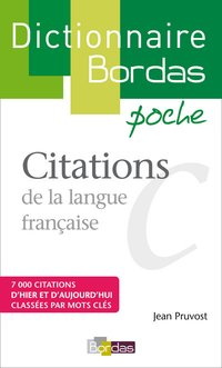 Citations de la langue française