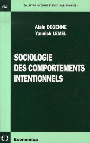 Sociologie des comportements intentionnels