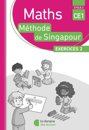 Pack 10 ex maths singapour exercices 2 ce1