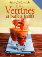 Coffret - Verrines et buffets festifs