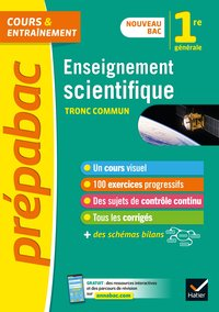 Prépabac  Enseignement scientifique 1re - 2019