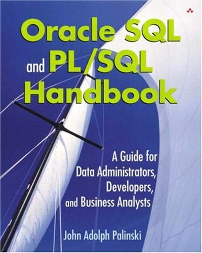 Oracle SQL and PL/SQL Handbook: A Guide for Data Administrators,    -  Librairie Eyrolles
