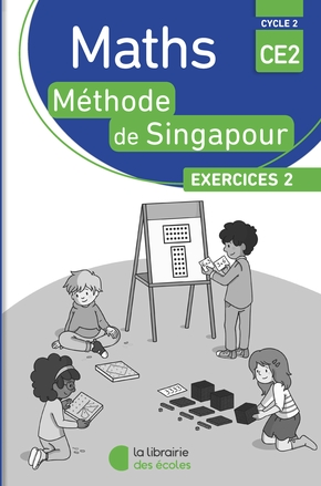 Pack 10 ex maths singapour exercices 2 ce2
