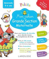 Mon grand cahier de grande section