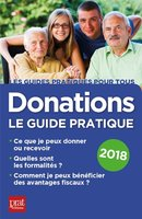 Donations, le guide pratique - 2018