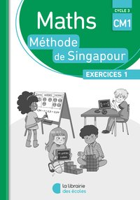 Pack 10 ex maths singapour exercices 1 cm1