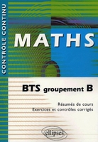 Maths - BTS Groupement B