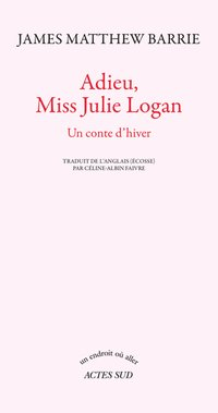 Adieu, miss Julie Logan