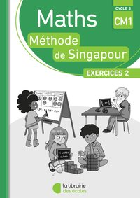 Pack 10 ex maths singapour exercices 2 cm1