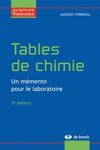 Tables de chimie
