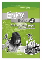 ENJOY ENGLISH IN ; 4ème ; guide pédagogique (édition 2008)