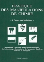 Pratique des manipulations de chimie à l'usage des biologistes