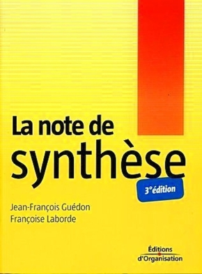J.-F.Guédon, F.Laborde- La note de synthèse