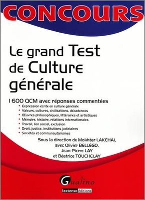 Le grand test de culture générale